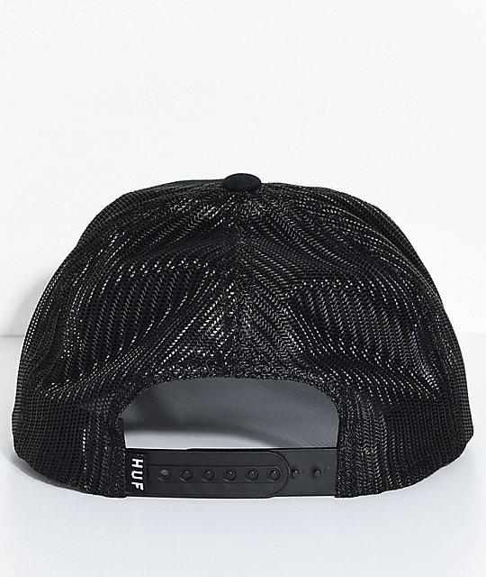 db6404addd069 ... HUF Eagle Black Trucker Hat