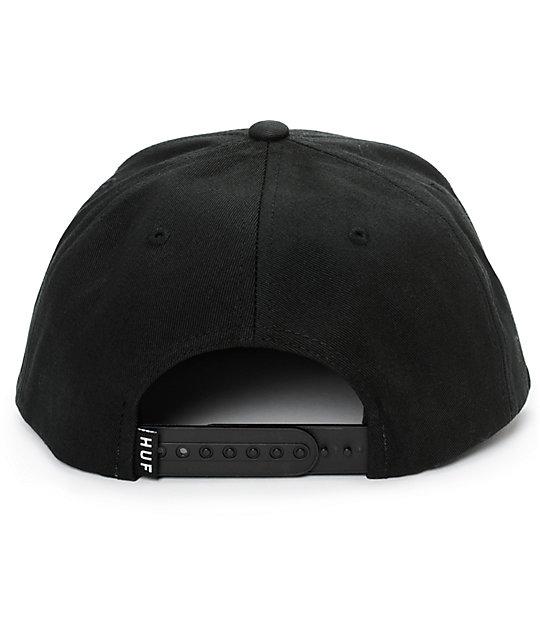 ... HUF Floral De Muerte Classic H Snapback Hat e971cd19bca4
