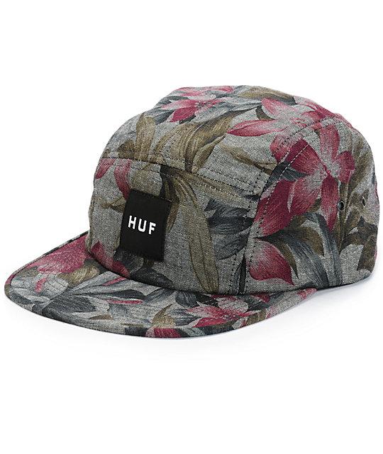 HUF Hawaiian Oxford 5 Panel Hat  eaa969b9d51