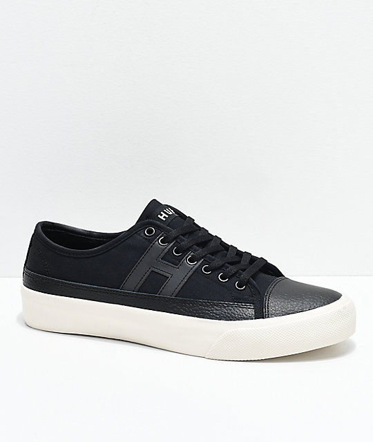 HUF Hupper 2 Lo Black & Cream Skate Shoes