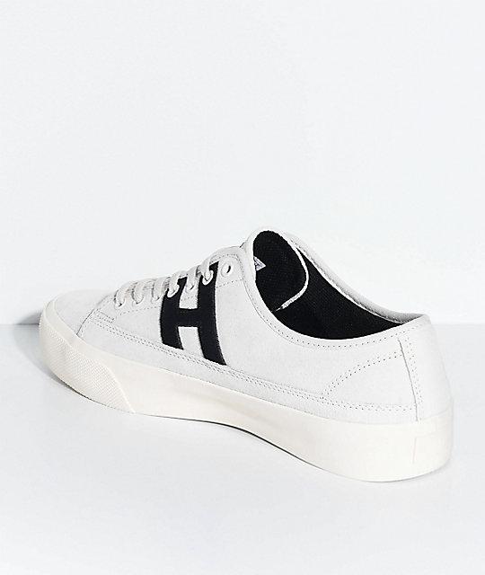 b7ee997db5d ... HUF Hupper 2 Lo Cream   Black Skate Shoes