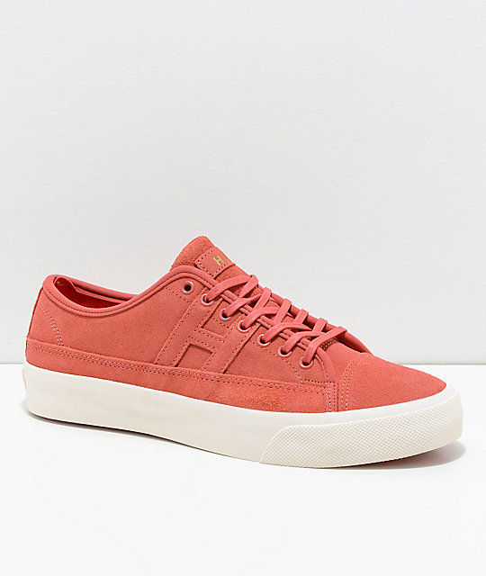 HUF Hupper 2 Lo Hibiscus & White Skate Shoes