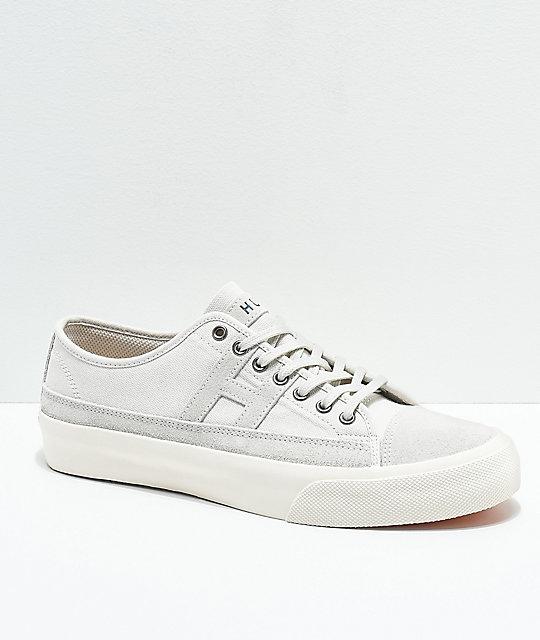 8b158ea6ed3 HUF Hupper 2 Lo Natural   White Skate Shoes