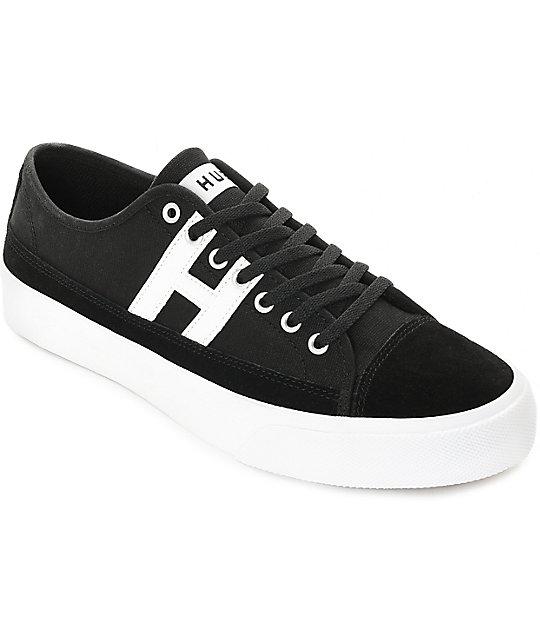 HUF Hupper 2 Lo Calzado black/white c2hrLu4NHi