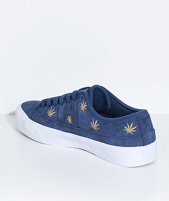 HUF Hupper 2 Plantlife Premium Blue Skate Shoes