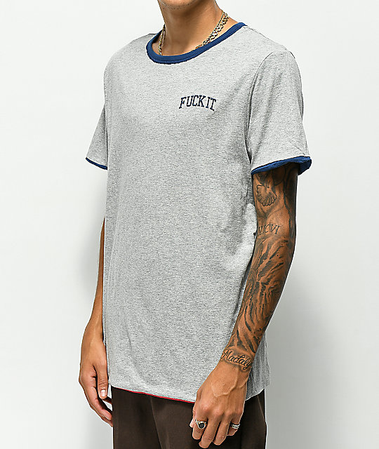 HUF Mens Invert Reversible S//S Knit Top