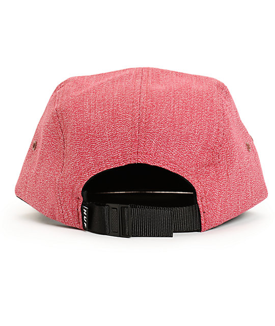 3ba0e3f31a5c8 ... HUF Japanese Speckle Red 5 Panel Hat