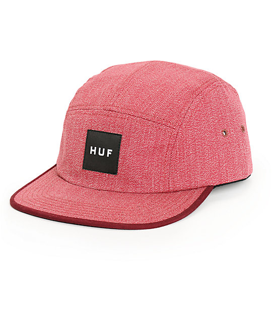 e0c87186f53 ... canada huf japanese speckle red 5 panel hat 37125 e85db