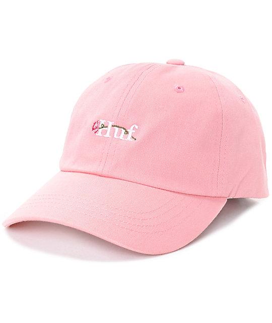1cf8af1bd HUF La Vie En Rose Pink Baseball Hat