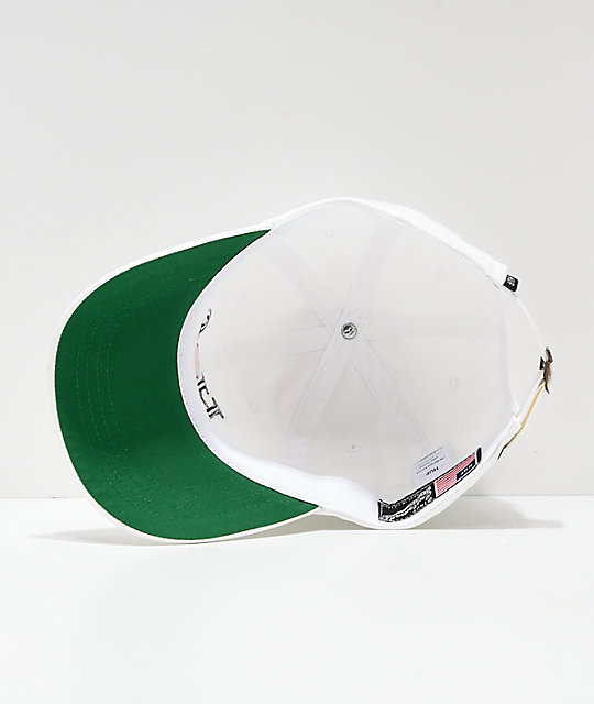 HUF Love White Strapback Hat
