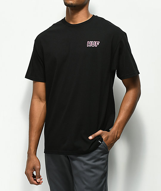 HUF Motel GND Black T-Shirt