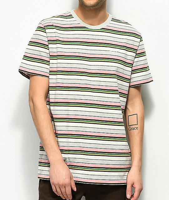 HUF Offshore Multi-Striped T-Shirt
