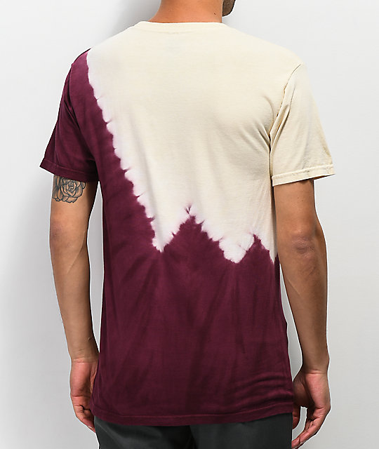 HUF Peak Port Royale Tie Dye T-Shirt