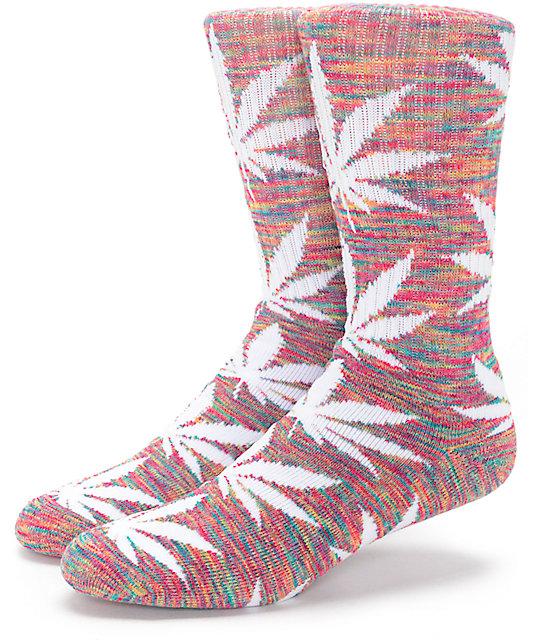 uroczy Cena hurtowa rozmiar 40 Shoptagr | Huf Plantlife Streaky Rainbow Crew Socks by Huf