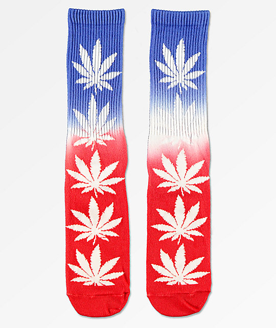 HUF Plantlife USA Crew Socks