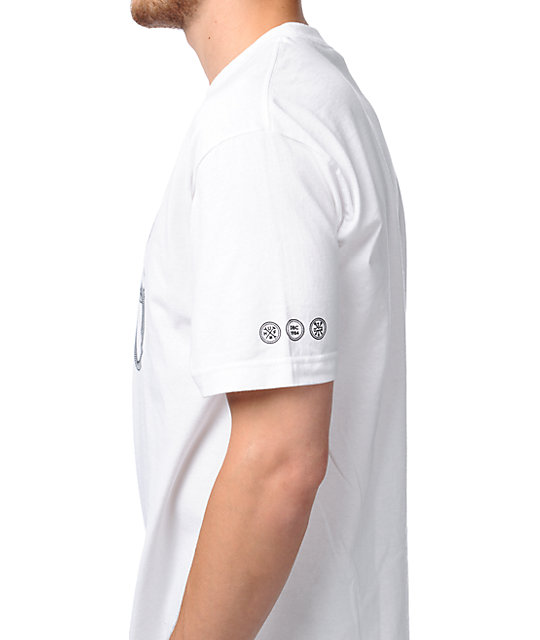 HUF Railroad White T-Shirt
