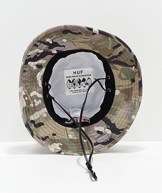 0a9739dc81c ... HUF Rivington Boonie Camo Bucket Hat