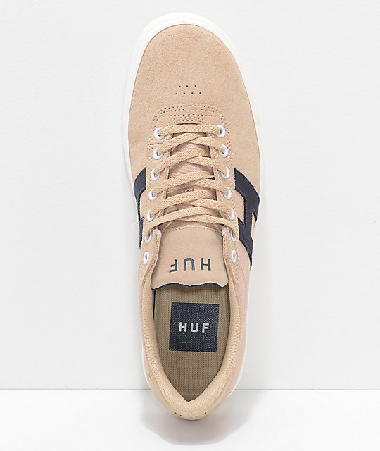 HUF Soto Wheat & White Skate Shoes