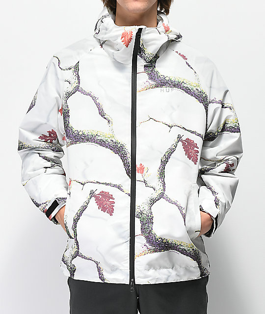 HUF Standard White Windbreaker Jacket