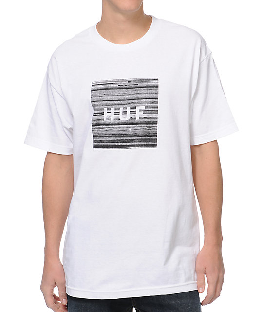 HUF Static Box White T-Shirt