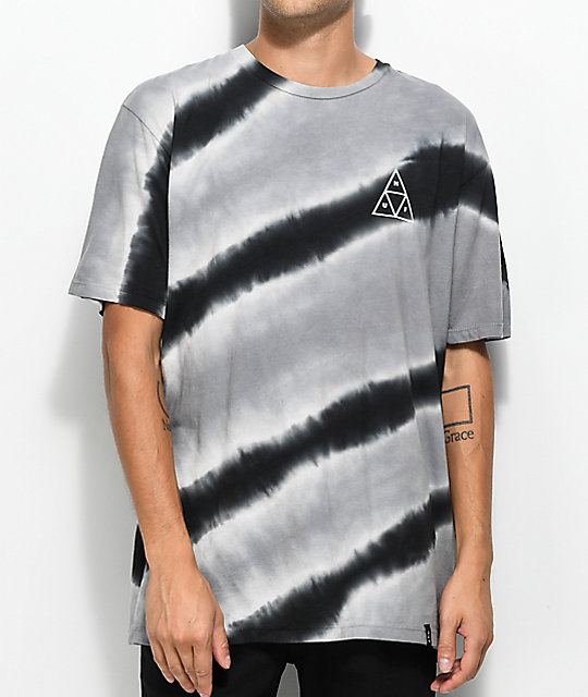 HUF Tiger White & Black Tie Dye T-Shirt