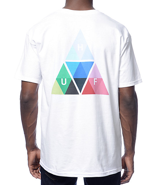 HUF Triangle Prism White T-Shirt