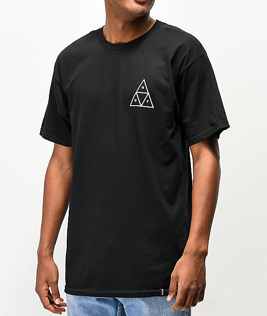 HUF Tropical camiseta negra