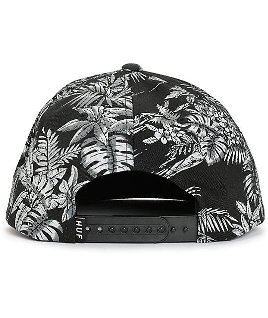 d3aa2f9257b HUF Tropics Snapback Hat  HUF Tropics Snapback Hat