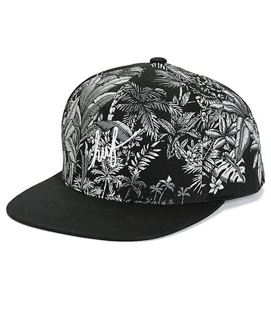 huge selection of 9b43a 7015f HUF Tropics Snapback Hat   Zumiez