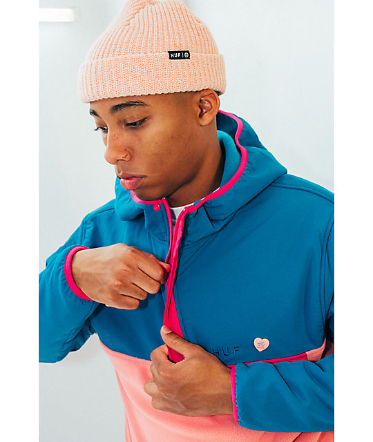 10cde6bcbec ... HUF Usual Dusty Pink Cuff Beanie