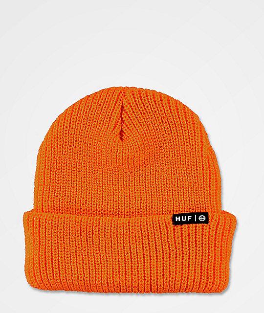 dostać nowe jakość najlepsze buty HUF Usual Russet Orange Beanie