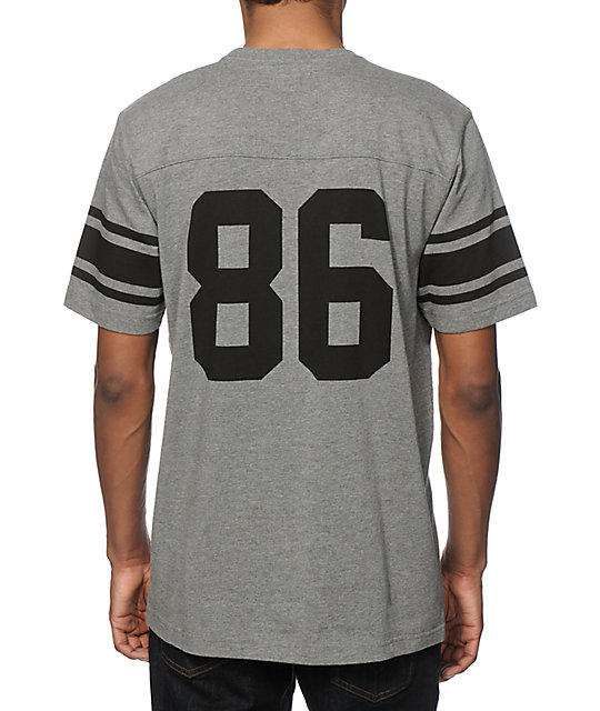 ... HUF Wrecking Crew Football Jersey T-Shirt ... c44844b8d