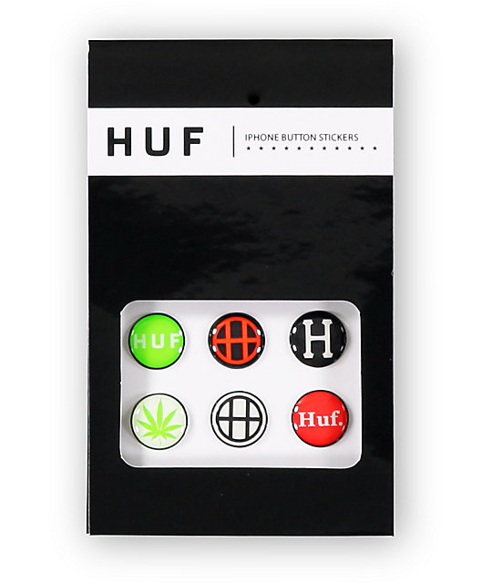 iphone button stickers huf iphone button stickers zumiez 11667