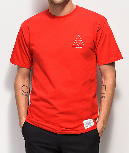 HUF x Budweiser Cheers Red T-Shirt