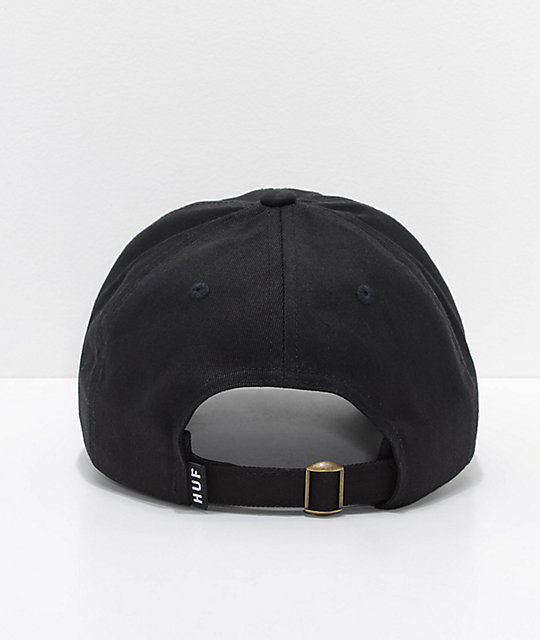 ba08dcb6f6b ... HUF x Felix The Cat Skate Black Dad Hat