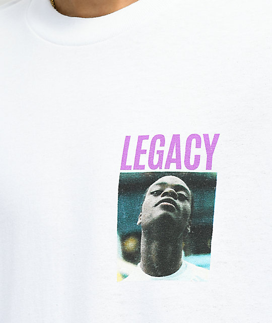 HUF x Harold Hunter Foundation Legacy camiseta blanca de de manga larga