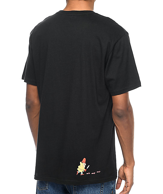 HUF x Pink Panther Black Pocket T-Shirt