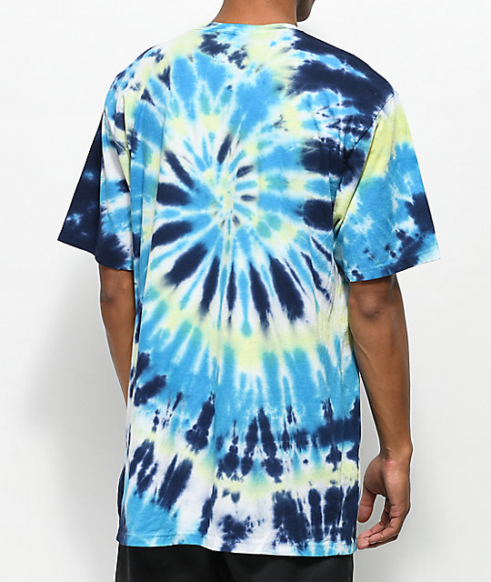 HUF x South Park Kenny Blue Tie Dye T-Shirt