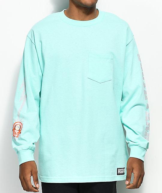 a643d3440eb HUF x South Park Kenny Celad Long Sleeve Pocket T-Shirt