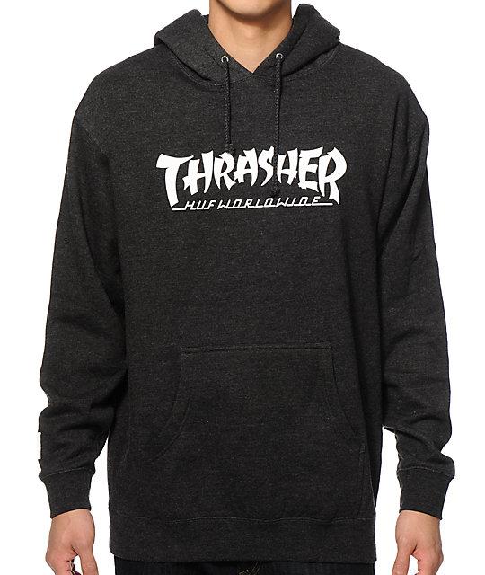 ab745e550944 HUF x Thrasher Asia Tour Hoodie