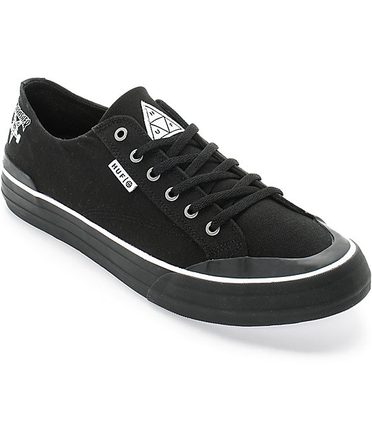 HUF x Thrasher Classic Lo Skate Shoes ...