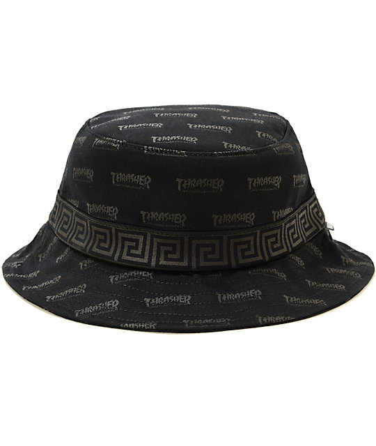 2515d2e0422 HUF x Thrasher Stoops Asia Tour Bucket Hat