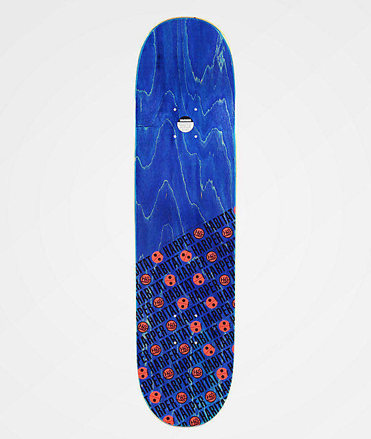 "Habitat Harper Marius Familiar Fish 8.0"" Skateboard Deck"