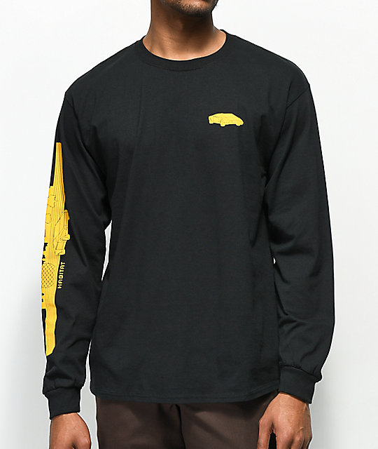 Habitat Toronto Black Long Sleeve T-Shirt