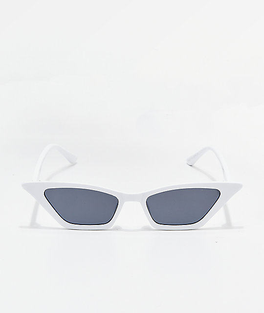 Hale White Sunglasses