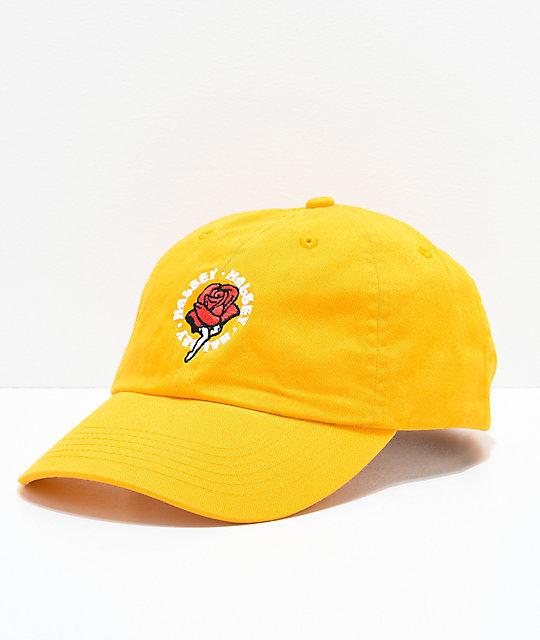 90b6d25b0 Halsey Red Rose Yellow Baseball Hat