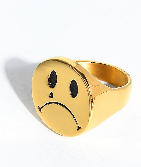 Han Cholo Cry Later Gold Ring