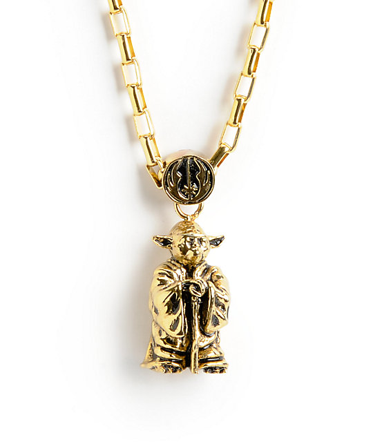 Han cholo x star wars yoda pendant necklace zumiez han cholo x star wars yoda pendant necklace aloadofball Choice Image