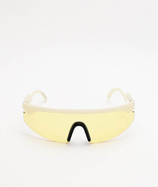 Happy Hour Accelerators Fried Egg Yellow Sunglasses