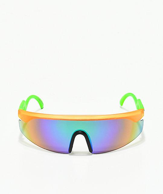 d33a316581 ... Happy Hour Accelerators Orange   Green Sunglasses